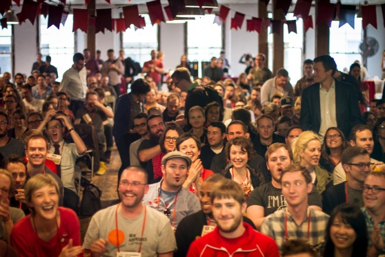 Awesome crowd at Brooklyn Beta 2012