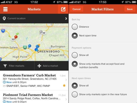 Farmstand - Market Filters