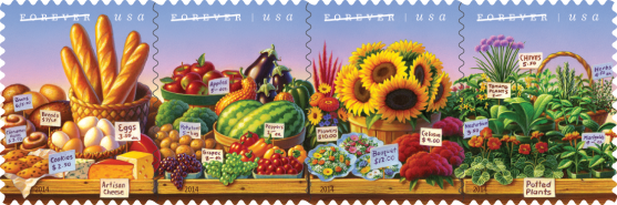 Farmers Market Stamps